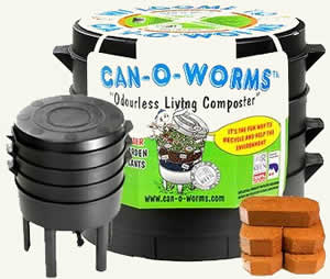 Indoor composter using a compost starter
