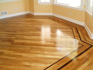 how to install hardwood floor borders part 1