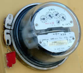 utility electric meter
