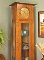 Woodworking Grandfather Clock Plans