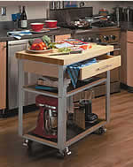 Build A Kitchen Cart/Island/Workstation  9 Free Plans  Plans 1  8