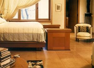 Leather Floor In Bedroom