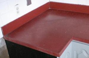 Countertop Paint Red : How to ?: How to paint laminate surfaces