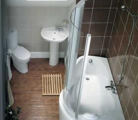 Lovely Small Bathroom