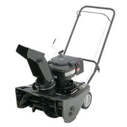 single stage snow blower