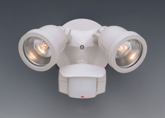 motion detector with flood lights