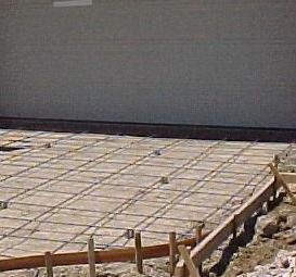 Rebar Installation Sizes