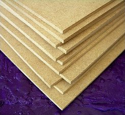 sheets of engineered wood