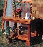 mobile potting bench
