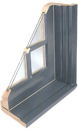 Aluminum Clad Wood Window Frame