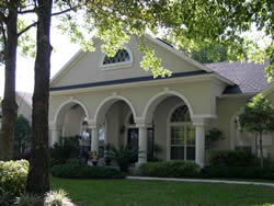 house with EIFS or synthetic stucco