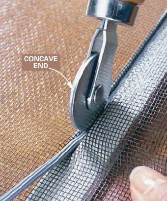 How To Replace A Window Or Door Screen