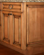 kitchen cabinet end raised panel
