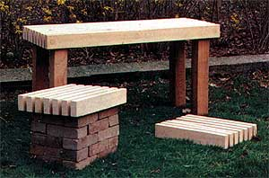 How To Build Outdoor Garden Benches - 34 Free Plans - Plans 17 to 24