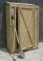 small garden tool shed - free plans, drawings & instructions