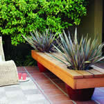 garden bench & planter - free plans, drawings & instructions