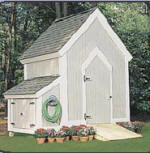 shed design 8 - free plans, drawings & instructions