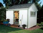 medium size garden shed - free plans, drawings & instructions