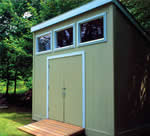 simple shed - free plans, drawings & instructions