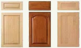 typical manufactured cabinet door and drawer fronts - 1 to 3