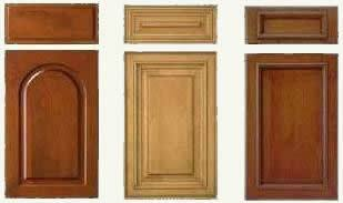 typical manufactured cabinet door and drawer fronts - 7 to 9