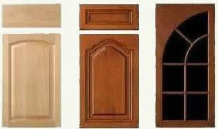typical manufactured cabinet door and drawer fronts - 10 to 12