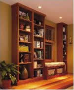 Nice Floor To Ceiling Bookcase Plan
