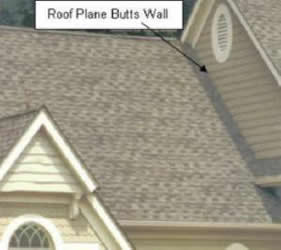 Roof Flashing To A Wall