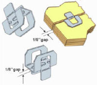 h-clips for roof sheathing