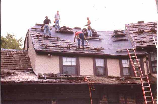 Concrete or Clay Tile Roof Installation