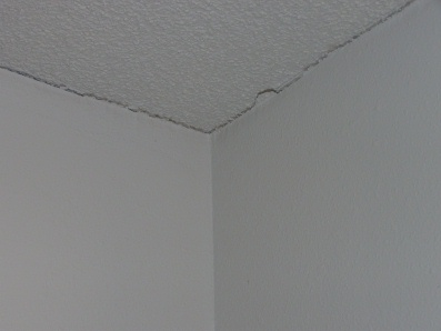 Ceiling Separating From Walls
